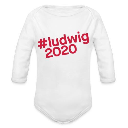 #ludwig2020 - Baby Bio-Langarm-Body