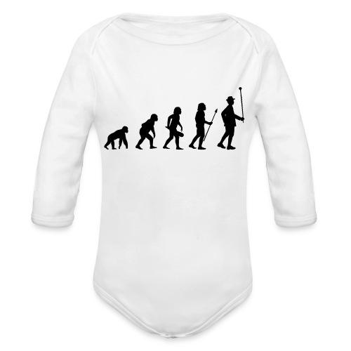 Stabführer Evolution - Baby Bio-Langarm-Body