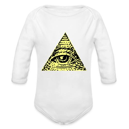 Illuminati - Ekologisk långärmad babybody