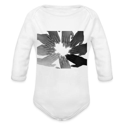 Ein Zeichen setzen - Baby Bio-Langarm-Body