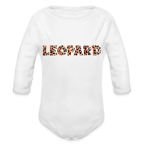 leopard 1237253 960 720 - Baby Bio-Langarm-Body