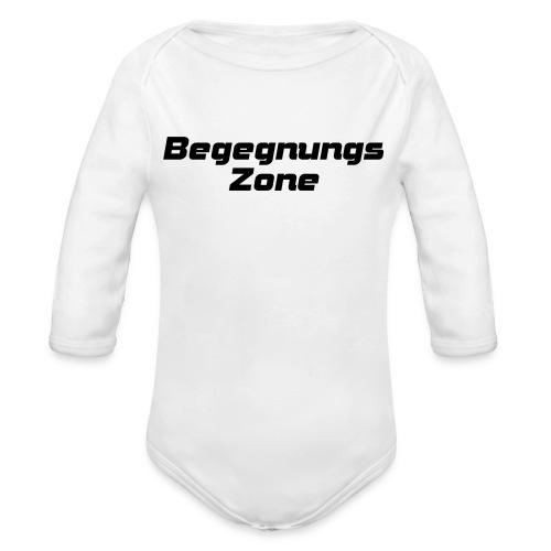 Begegnungszone - Baby Bio-Langarm-Body