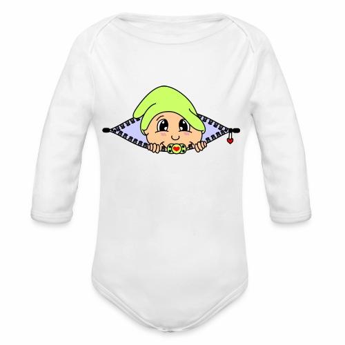 Zwerg - Baby Bio-Langarm-Body