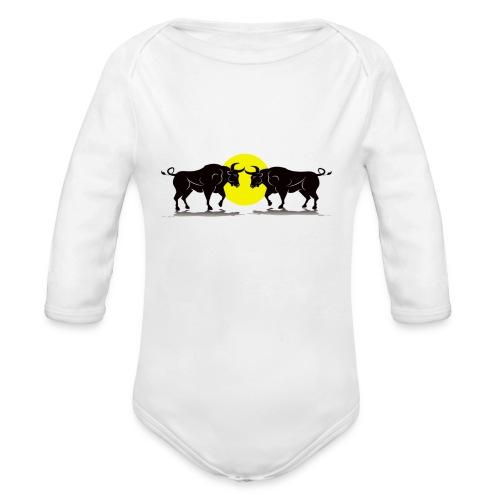 Taurus Bull - Organic Longsleeve Baby Bodysuit