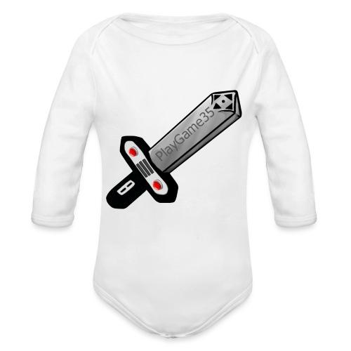 Logo PlayGame35 - Body ecologico per neonato a manica lunga