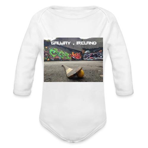 GALWAY IRELAND BARNA - Organic Longsleeve Baby Bodysuit