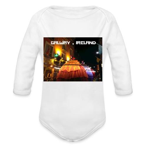 GALWAY IRELAND MACNAS - Organic Longsleeve Baby Bodysuit