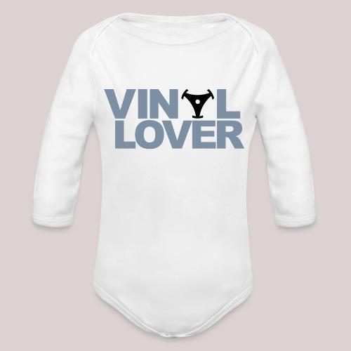02-30-Vinyl Lover Musik DJ - Baby Bio-Langarm-Body