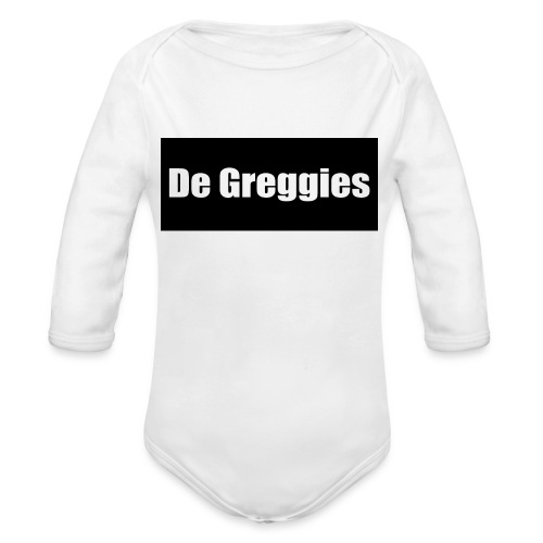 De Greggies T-Shirt - Baby bio-rompertje met lange mouwen