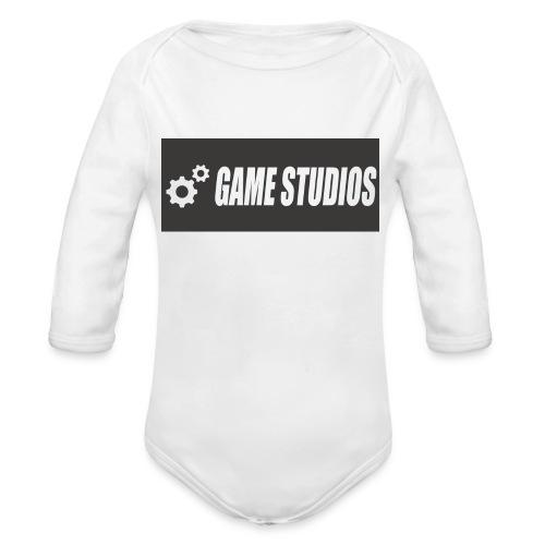 game studio logo - Organic Longsleeve Baby Bodysuit