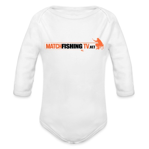 Match Fishing TV - Body ecologico per neonato a manica lunga