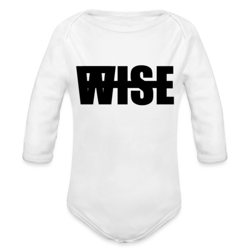WISEFINAL - Organic Longsleeve Baby Bodysuit