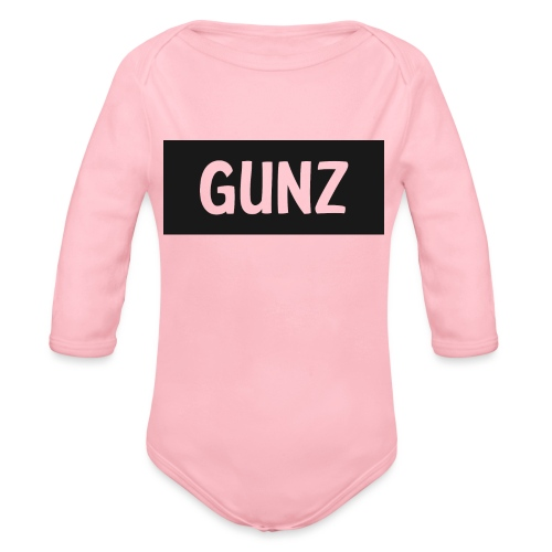 Gunz - Langærmet babybody, økologisk bomuld