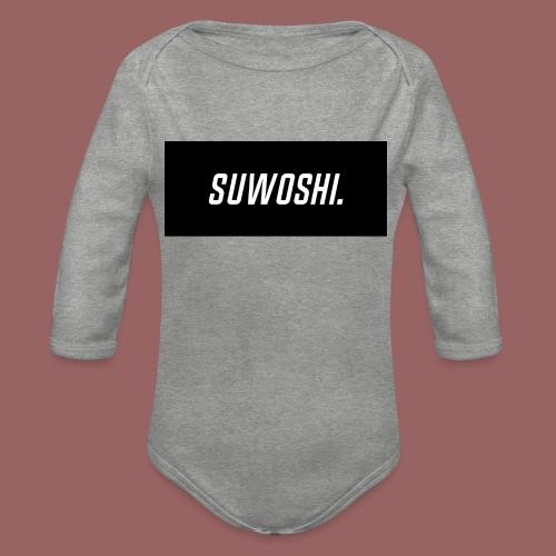 Suwoshi Sport - Baby bio-rompertje met lange mouwen