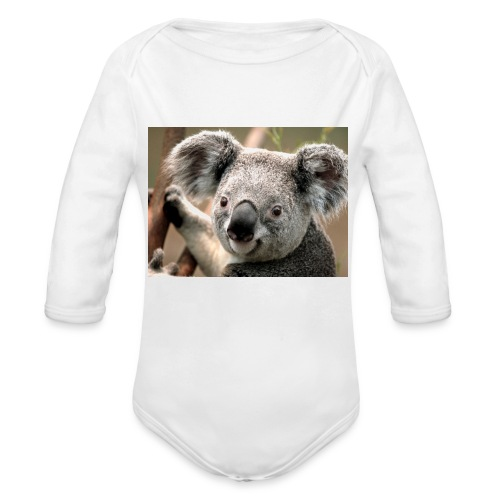 Koala - Body Bébé bio manches longues