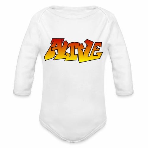 ALIVE CGI - Organic Longsleeve Baby Bodysuit
