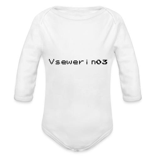 vsewerin03 exclusive tee - Langærmet babybody, økologisk bomuld