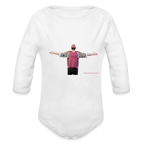 HolyHippieBeardGuy - Body Bébé bio manches longues