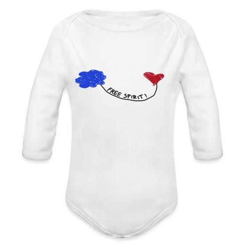 freespirit - Body ecologico per neonato a manica lunga