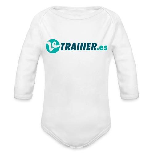 VTRAINER.es - Body orgánico de manga larga para bebé