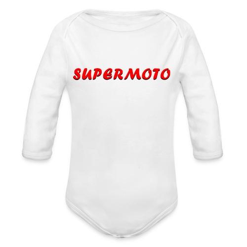 SupermotoLuvan - Ekologisk långärmad babybody