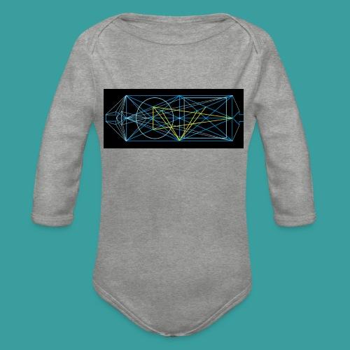 simmetria intelletuale - Body ecologico per neonato a manica lunga