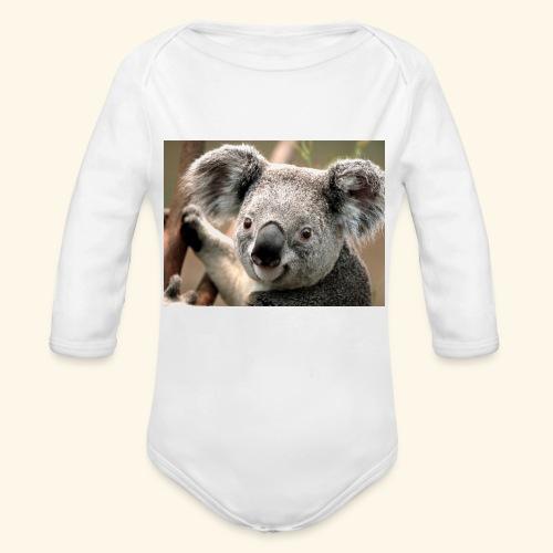 Koala - Baby Bio-Langarm-Body