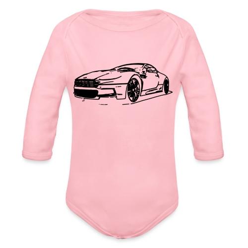Aston Martin - Organic Longsleeve Baby Bodysuit