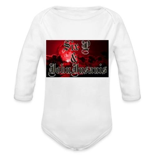 Six P & John Insanis T-Paita - Vauvan pitkähihainen luomu-body