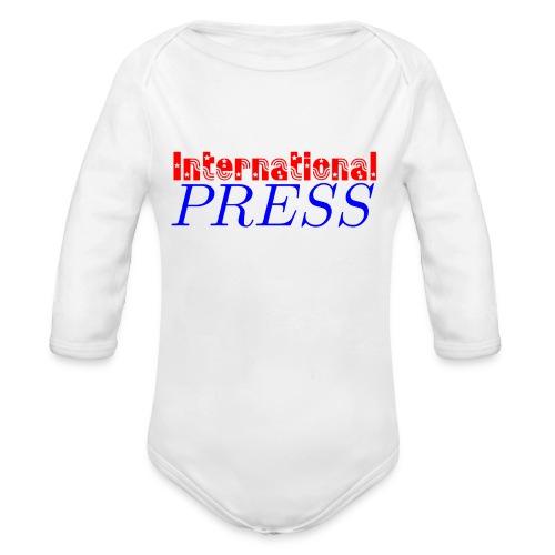 int_press-png - Body ecologico per neonato a manica lunga