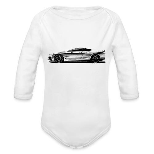 serie 8 Concept car - Body orgánico de manga larga para bebé