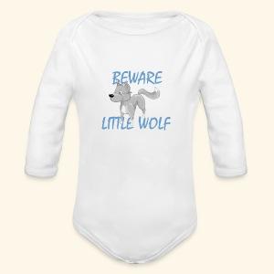 Petit loup - Body bébé bio manches longues