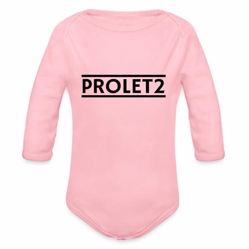 Prolet2 | Geschenk - Baby Bio-Langarm-Body