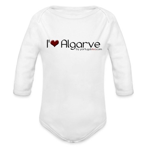 I Love Algarve - Body Bébé bio manches longues