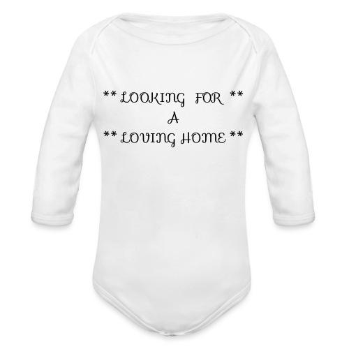 Loving home - Vauvan pitkähihainen luomu-body