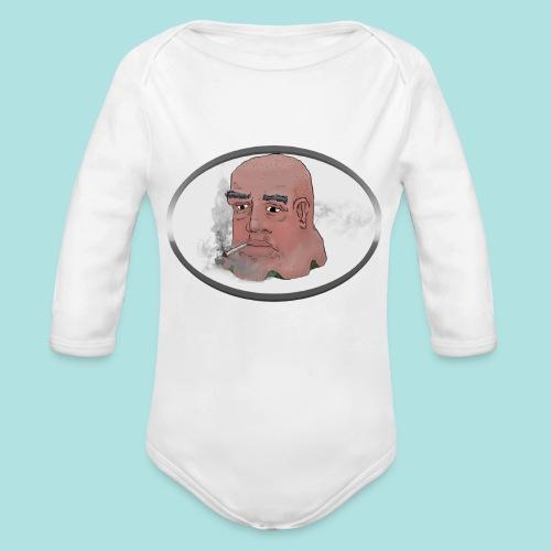 Smokey JO - Organic Longsleeve Baby Bodysuit