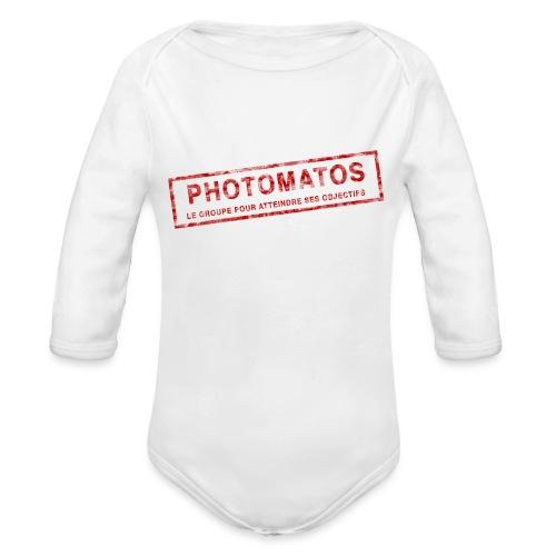 PhotoMatos - Body Bébé bio manches longues
