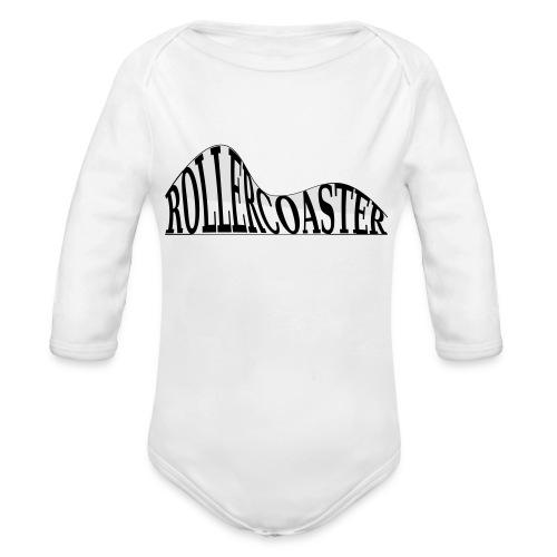 envelope_coaster - Langærmet babybody, økologisk bomuld