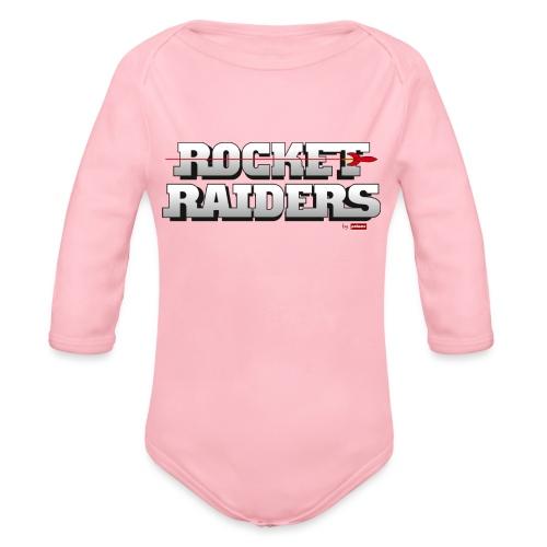 patame Rocket Raiders Logo - Baby Bio-Langarm-Body