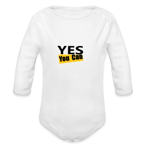 Yes you can - Body Bébé bio manches longues