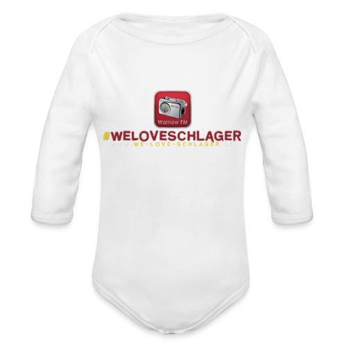 WeLoveSchlager de - Baby Bio-Langarm-Body