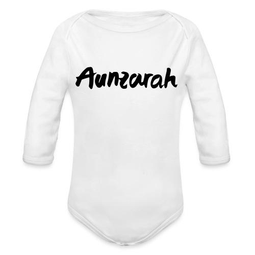 Aunzarah - Baby Bio-Langarm-Body