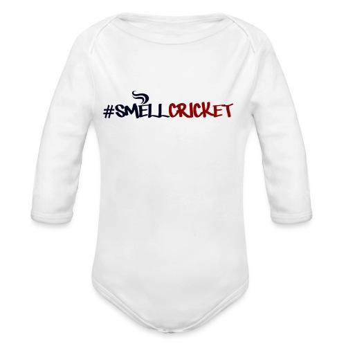 smellcricket - Organic Longsleeve Baby Bodysuit