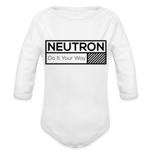 Neutron Vintage-Label - Baby Bio-Langarm-Body