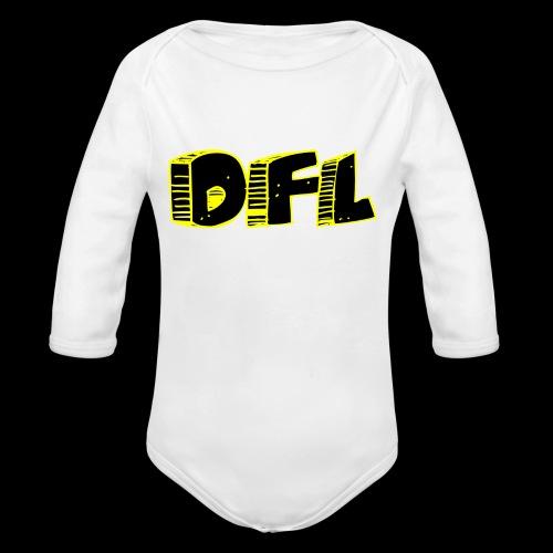DFunctionaL Logo - Organic Longsleeve Baby Bodysuit