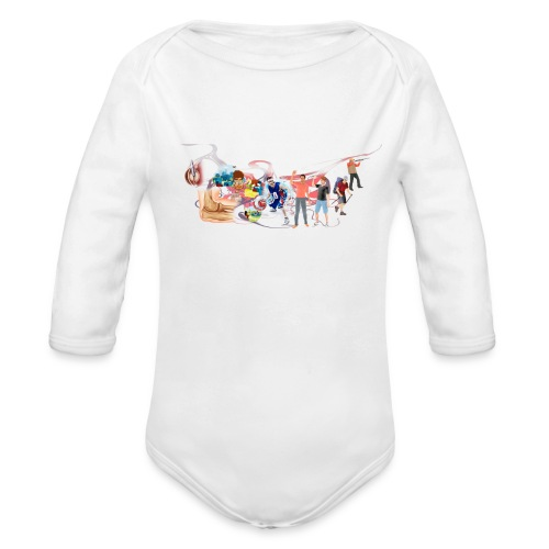 Miami - Organic Longsleeve Baby Bodysuit