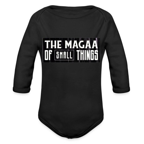 The magaa of small things - Organic Longsleeve Baby Bodysuit