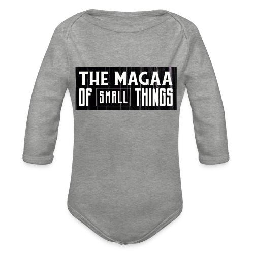 The magaa of small things - Organic Longsleeve Baby Bodysuit
