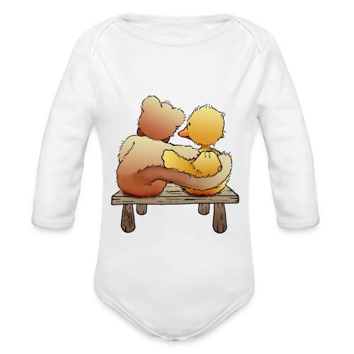 Freunde für immer - Baby Bio-Langarm-Body
