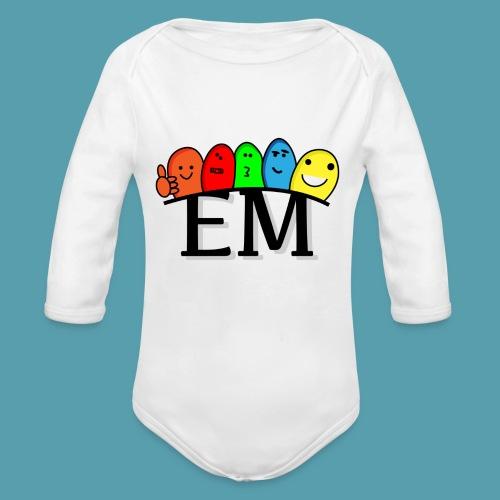 EM - Vauvan pitkähihainen luomu-body